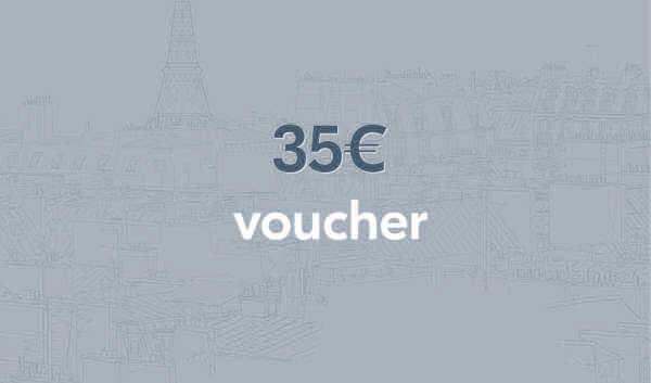 Bon-cadeau d'une valeur de 35€