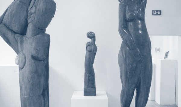 An Oasis of Sculptures
