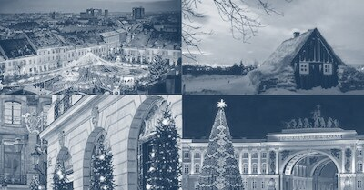 Free Online Christmas Guided Tour in Russia, Iceland, Romania and France!