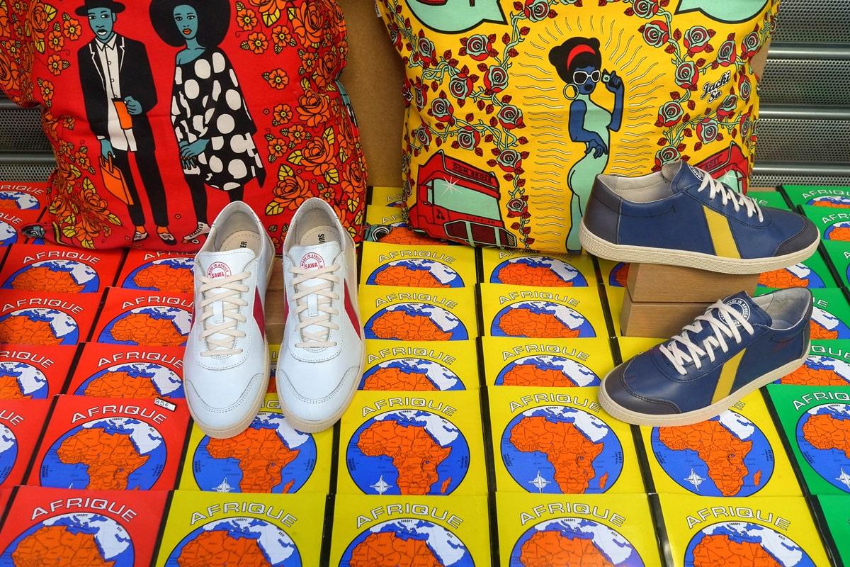 Sawa Shoes Paris exotique Goutte d'Or