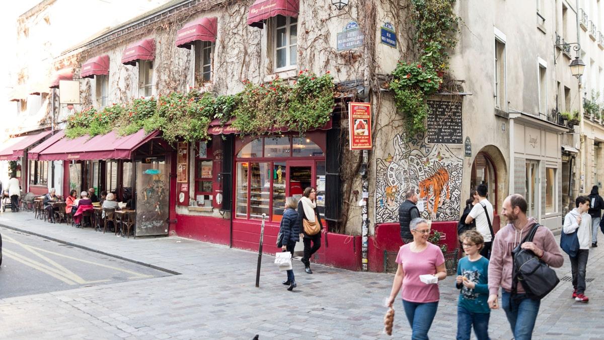 Balade gourmande Marais Paris
