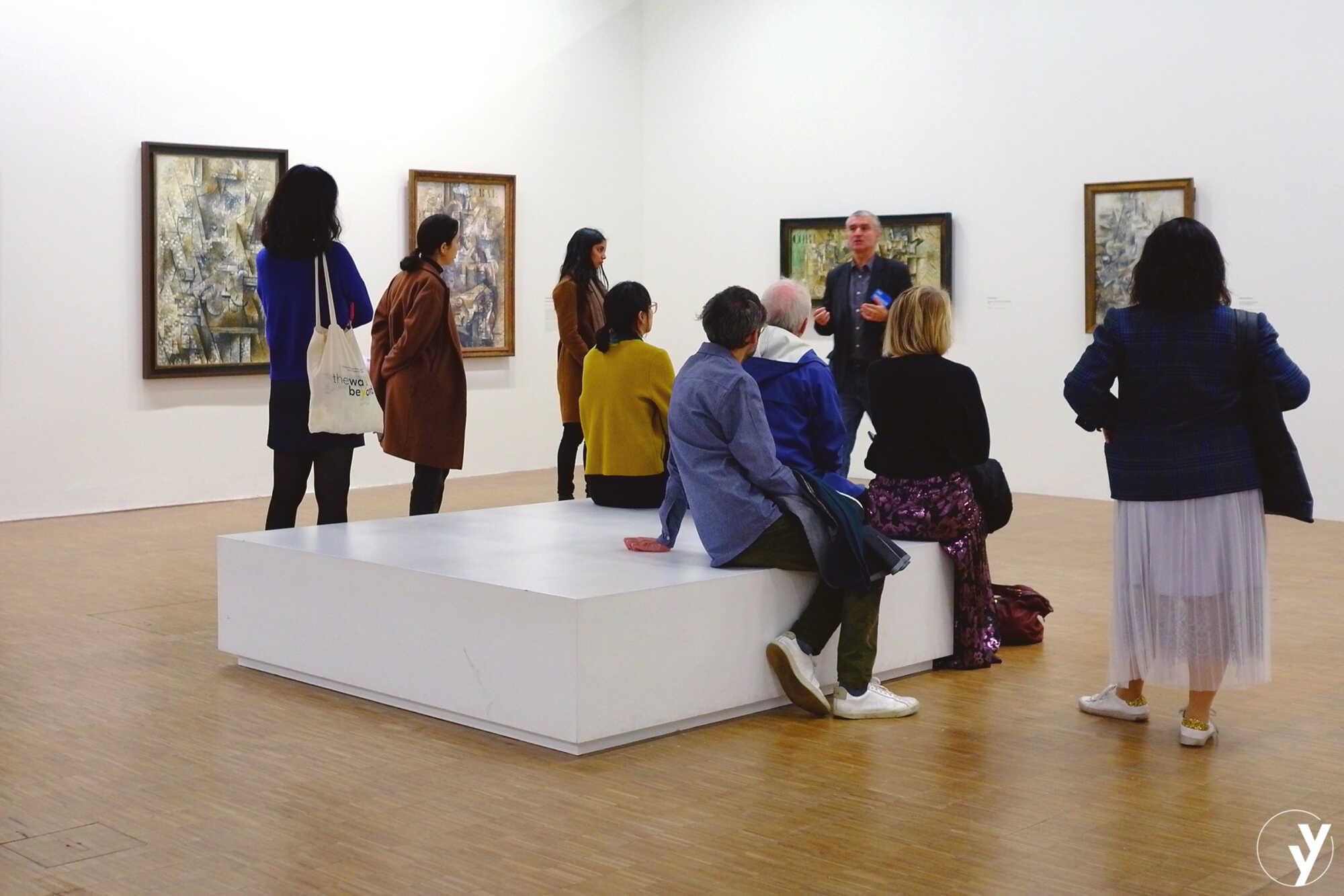 Visite de l'exposition Cubismes au Centre Pompidou, 01/12/2018 © TheWaysBeyond 2018