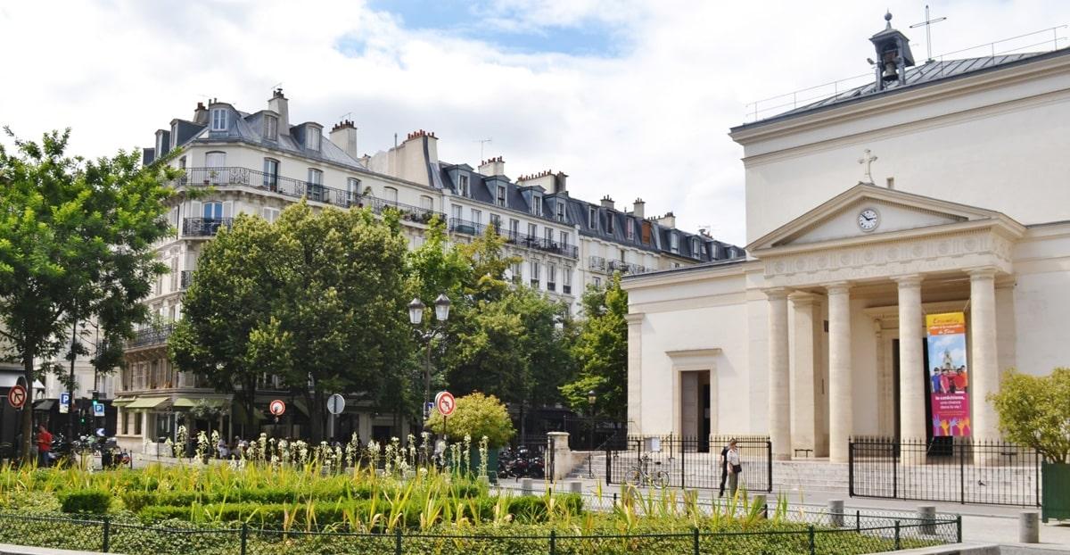 Paris Autrement Batignolles église Ste-Marie