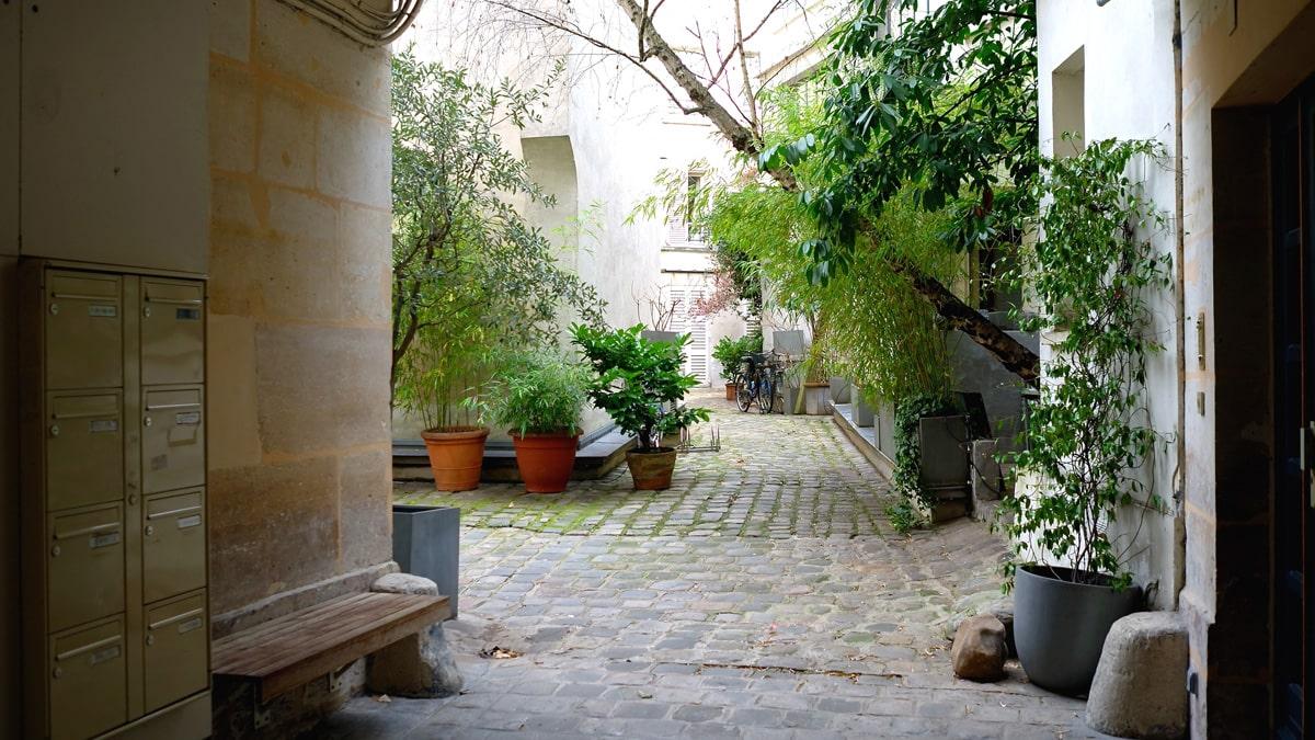 Essential Paris Le Marais hidden courtyards
