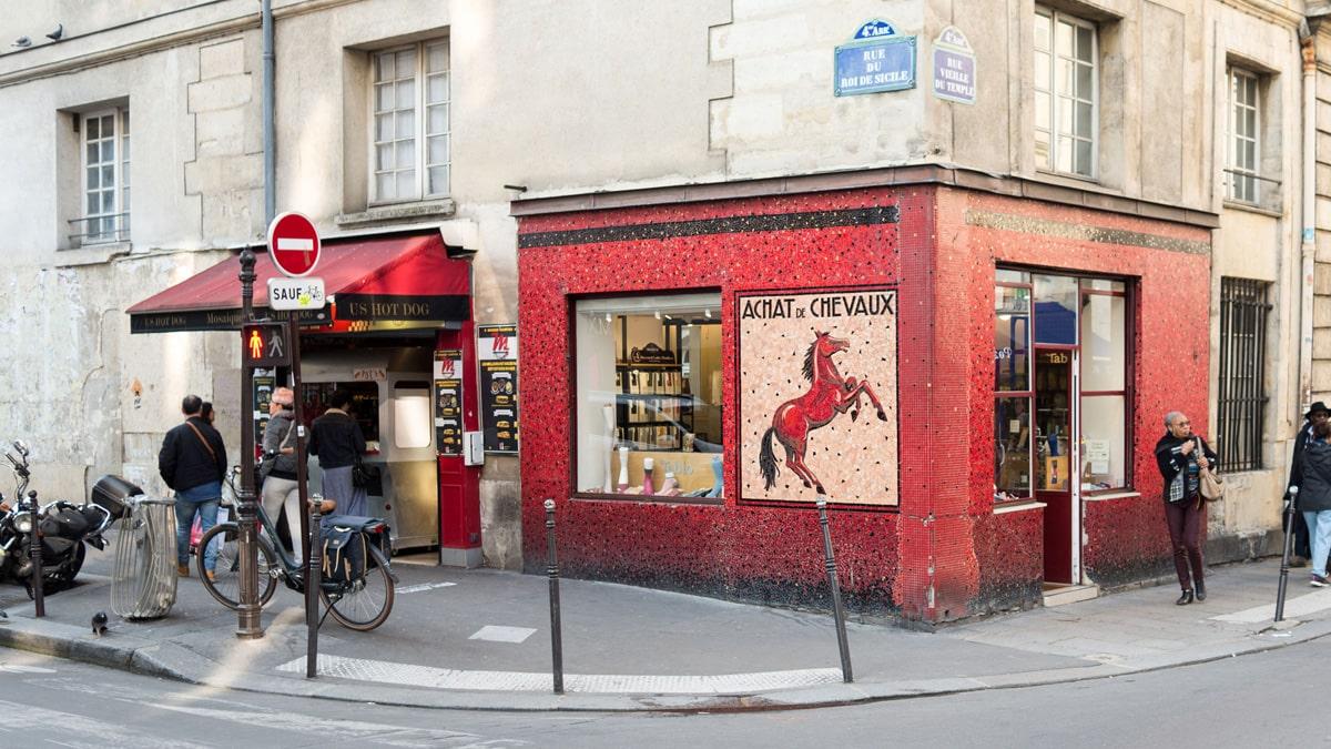 Paris incontournable Le Marais
