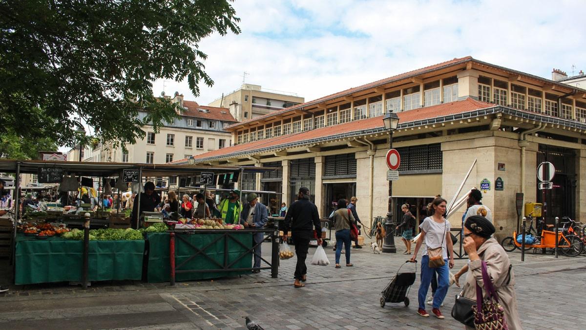 Paris Bastille Faubourg Saint-Antoine Aligre