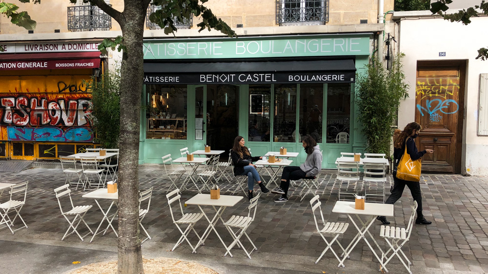 Bakery Benoît Castel