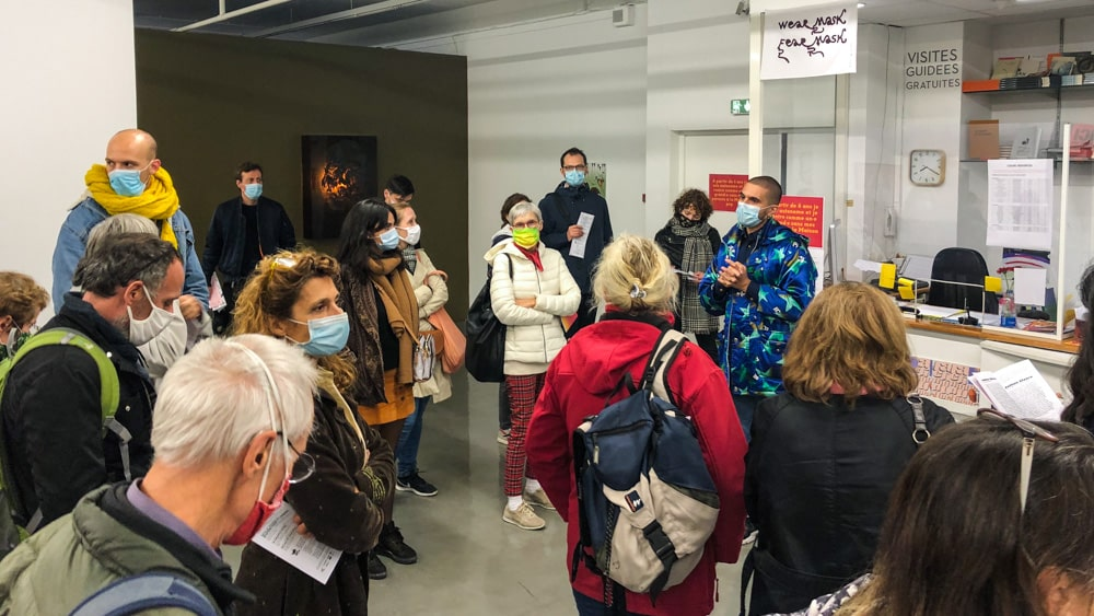 """Visiting the expo with Thomas Conchou, curator of """"La clinique du queer"""""""