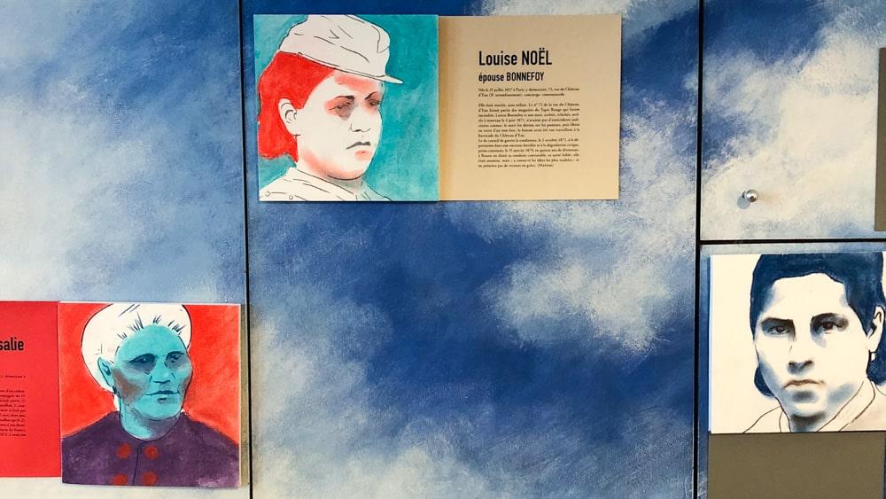 Ateliers d'Artistes de Belleville Isabelle Abiven Communardes 2020