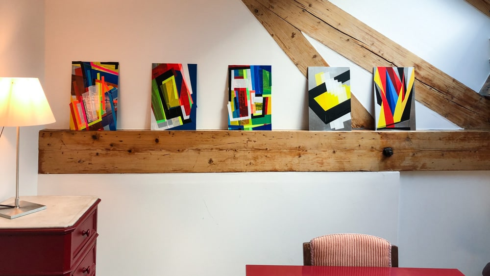 Ateliers d'Artistes de Belleville Pauline Thomas