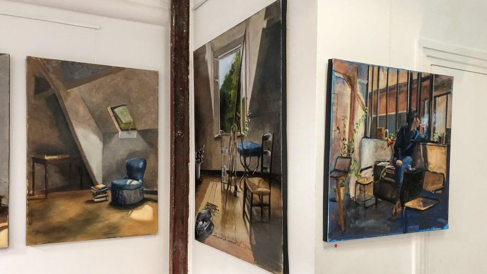 Ateliers d'Artistes de Belleville Charlotte Barrault