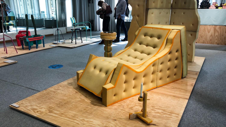 Studiolow's foam living room