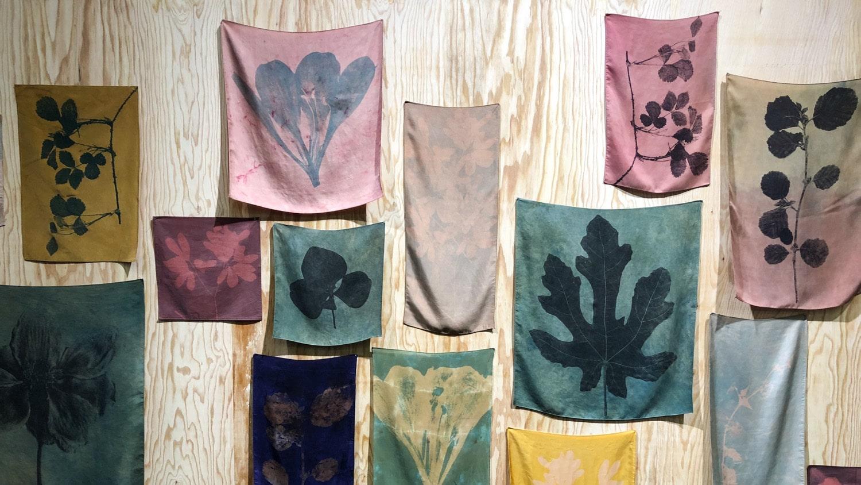 Juliette Vergne silk imprint