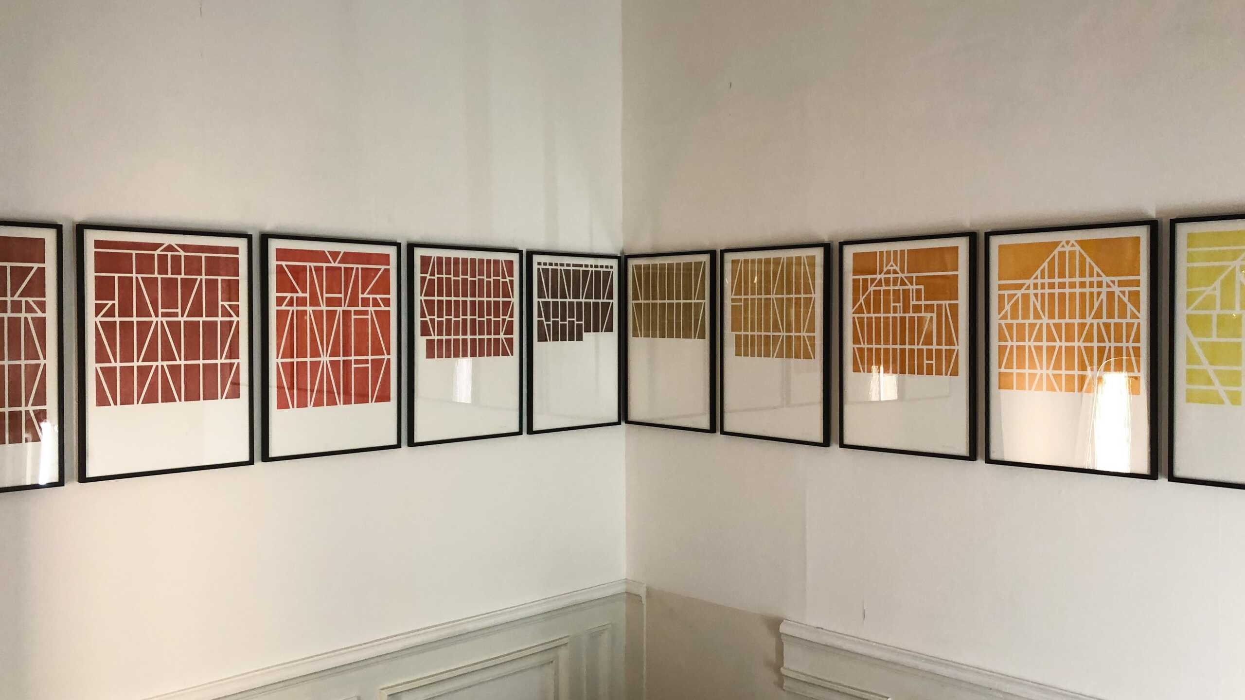 Gilles Pourtier's engravings inspired by Bernd and Hilla Becher