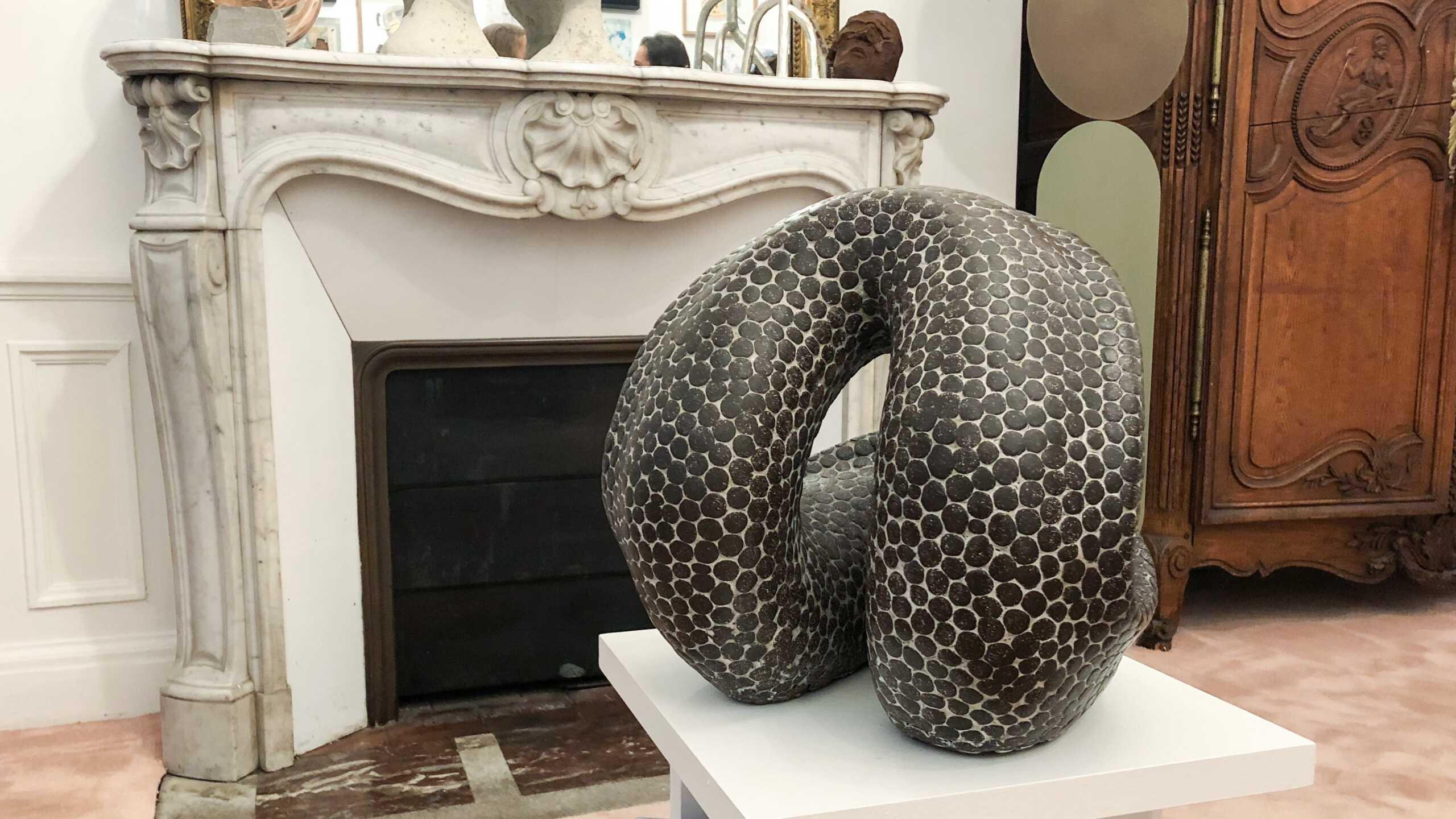 Yann Delacour sculpture ceramic