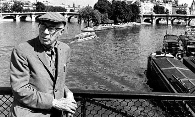 Henry Miller in Paris in the 1960s