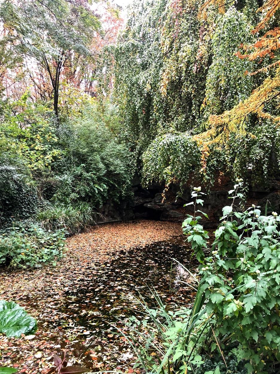 Jardin de la Nouvelle-France, The Waterpond