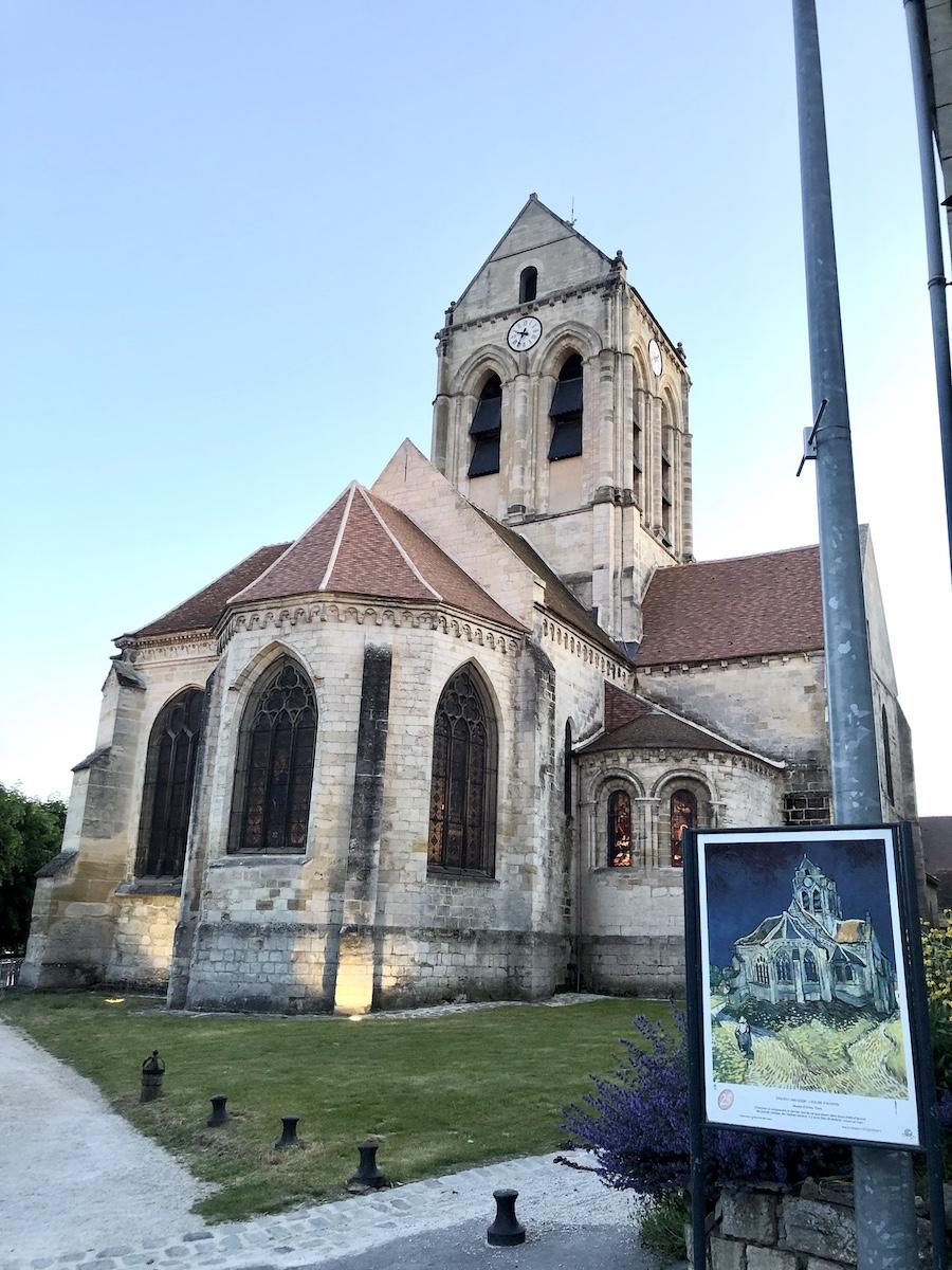 Notre-Dame-de-l'Assomption, main church of Auvers-Sur-Oise