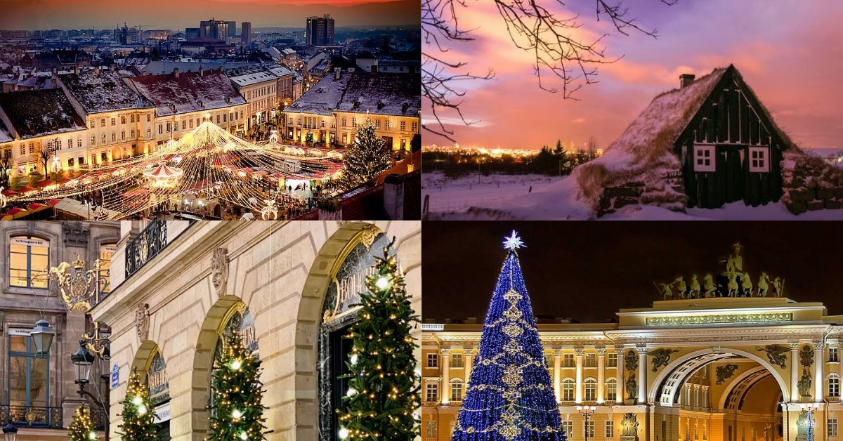 Travel From Home - Online Christmas Tour