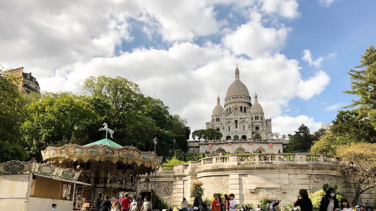 TheWaysBeyond Paris Montmartre Sacre Coeur Basilica