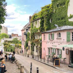TheWaysBeyond Paris Montmartre Maison Rose Pink House Cover