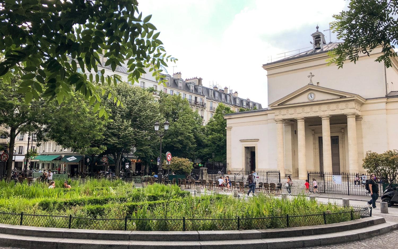 Paris Batignolles Eglise Sainte-Marie TheWaysBeyond Cover